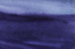 темнота абстрактной предпосылки голубая Ландшафт Alligoric Горы моря неба Ровные волнистые линии иллюстрация вектора
