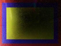Темнота и свет Aqua Стоковая Фотография