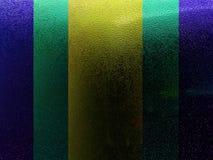 Темнота и свет Aqua Стоковое фото RF