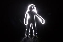 Темнота касания нерезкости человеческая Стоковое фото RF