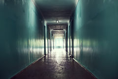 темнота корридора стоковая фотография