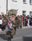 Темнота костюма Kurent стоковое фото