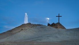 Темнота креста Стоковая Фотография