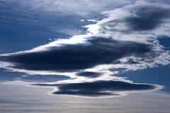 темнота облака Стоковые Изображения