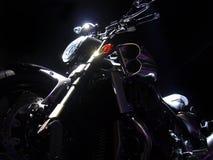 темнота освещает yamaha vmax Стоковая Фотография