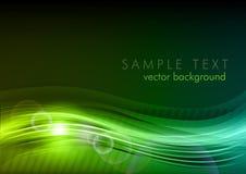темнота предпосылки - зеленый цвет Стоковая Фотография RF