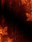 темнота предпосылки коричневая Иллюстрация вектора