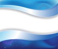 темнота предпосылки голубая Стоковое Изображение