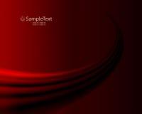 темнота предпосылки - красный цвет Стоковая Фотография RF