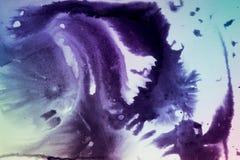 Темнота распространяет пятна чернил Стоковое фото RF