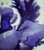 Темнота распространяет пятна чернил Стоковые Фото