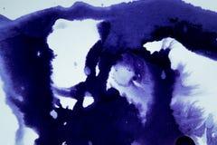 Темнота распространяет пятна чернил Стоковые Изображения RF
