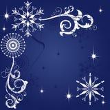темнота рождества предпосылки голубая бесплатная иллюстрация