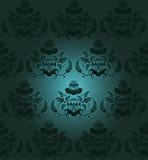 Темнота флористического дизайна Стоковые Изображения RF