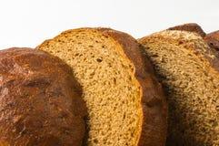темнота хлеба отрезала Стоковые Изображения