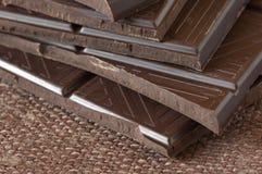 темнота шоколада стоковые фотографии rf