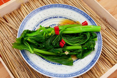 темно - зеленый густолиственный овощ Стоковое фото RF