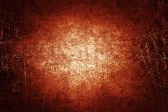Темно - текстура поцарапанная красным цветом Стоковое Изображение