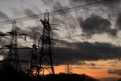 темные башни стоковые фото