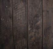 Темные деревянные планки Стоковое Изображение