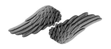 Темные крыла гипсолита Стоковая Фотография