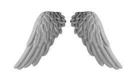 Темные крыла гипсолита Стоковые Фото