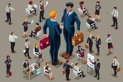 Темные люди вектора бизнесмена для изображений героя Стоковая Фотография RF