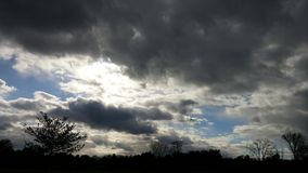 темные небеса Стоковые Фотографии RF