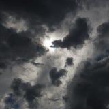 Темные облака Стоковое Изображение