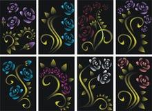 темные розы бесплатная иллюстрация