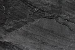 Темные серые черные предпосылка или текстура шифера Стоковые Изображения RF