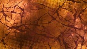Темные цифровые абстрактные обои иллюстрация вектора