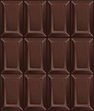 Темные шоколадные батончики конфеты также вектор иллюстрации притяжки corel картина безшовная Стоковое Изображение