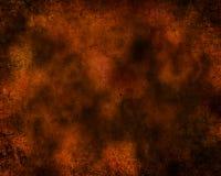 Темный - апельсин и текстурированная чернотой предпосылка иллюстрация вектора