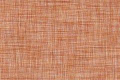 Темный - апельсин покрасил безшовную linen предпосылку текстуры Стоковое Изображение RF