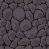темный безшовный камень Стоковое Фото