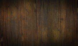 Темный винтажный деревянный grunge предпосылки текстуры планки стоковое фото