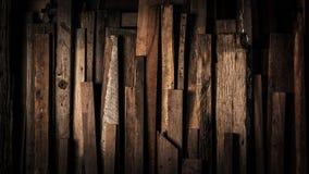 Темный год сбора винограда выдержал исправленная деревянная предпосы стоковые фотографии rf