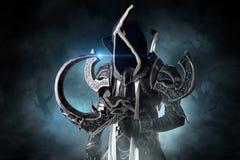 Темный демон cosplay Стоковое фото RF