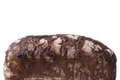 Темный здоровый хлеб на белизне Стоковые Фотографии RF