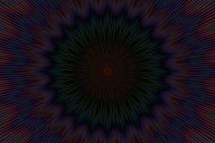 Темный калейдоскоп картины цветка флористический темнота графиков бесплатная иллюстрация