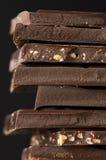 Темный конец-вверх шоколада Стоковое фото RF