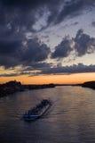 темный корабль Стоковая Фотография RF