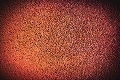 Темный - космос предпосылки красной и коричневой рамки grunge пустой Стоковые Фотографии RF