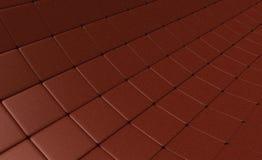 Темный - красная зернистая мозаика любит сеть паука Стоковое Изображение RF
