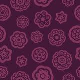 Темный - красная картина цветков Стоковые Фото