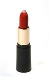 темный красный цвет губной помады Стоковое фото RF