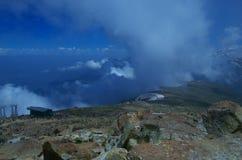 Темный ландшафт Кашмира на Gulmarg-2 Стоковая Фотография