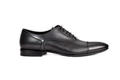 Темный мужчина shoe-11 Стоковые Изображения RF
