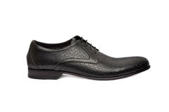 Темный мужчина shoe-12 Стоковая Фотография